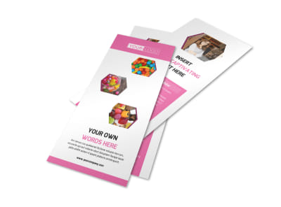 Candy Shop Flyer Template 2