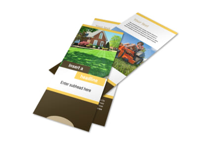 Lawn Maintenance Service Flyer Template