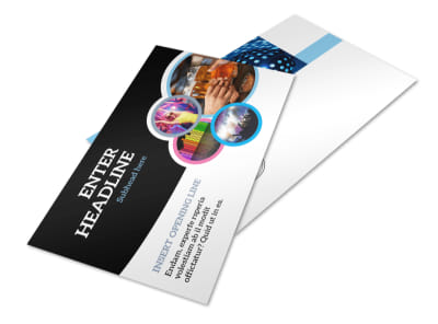 Club Party Postcard Template 2 preview