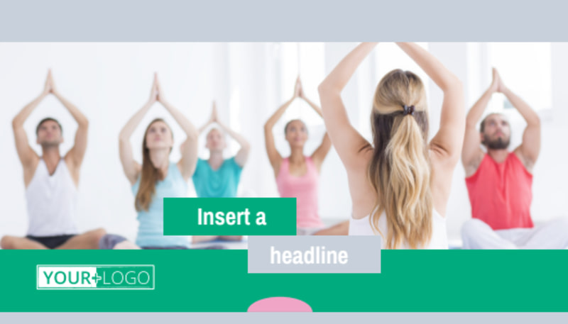 Hot Yoga Class Business Card Template Preview 2