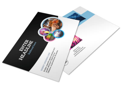 Club Party Postcard Template preview
