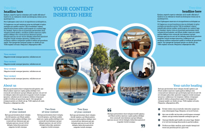 Yacht Tour Brochure Template Preview 2