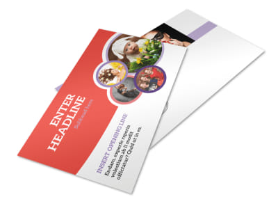 Costume Rental Postcard Template 2 preview