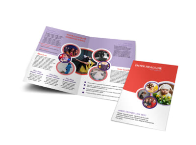 Costume Rental Bi-Fold Brochure Template preview