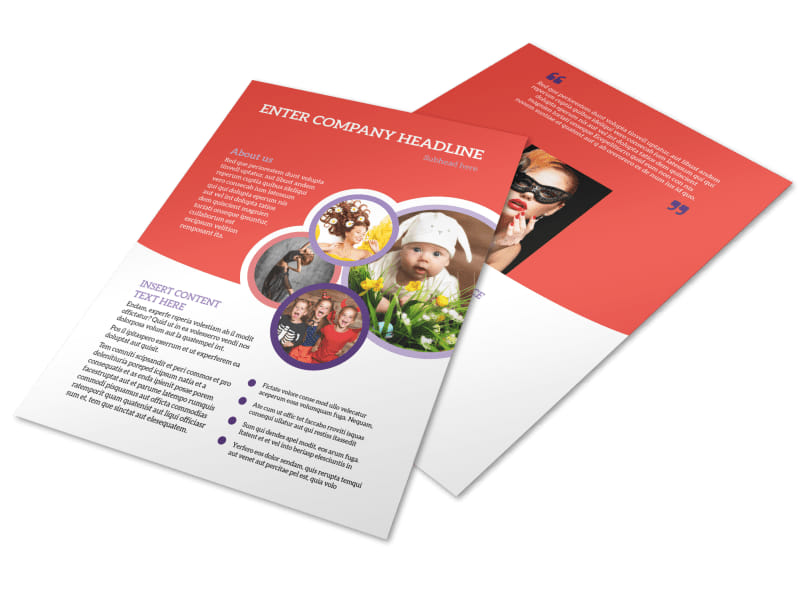 Costume Rental Flyer Template Preview 4