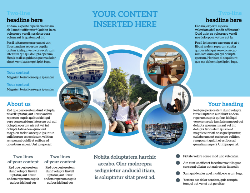 Yacht Tour Brochure Template Preview 3