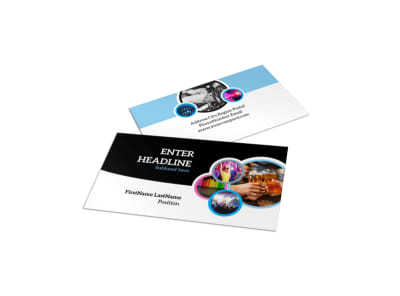 Club Party Business Card Template preview
