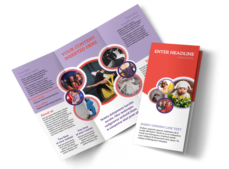 Costume Rental Brochure Template Preview 1