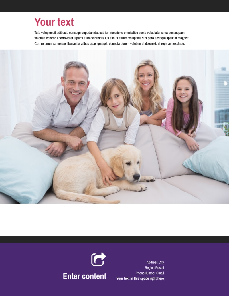 Pet Adoption Flyer Template Preview 3