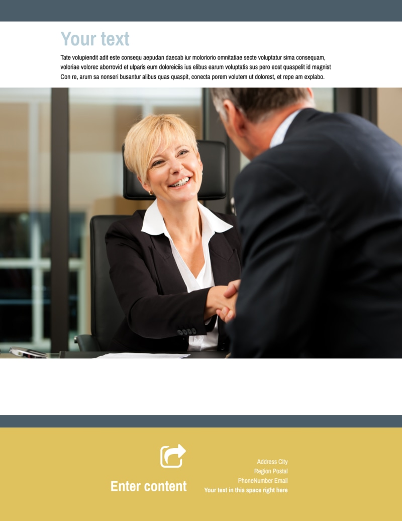 Accident Compensation Lawyer Flyer Template Preview 3