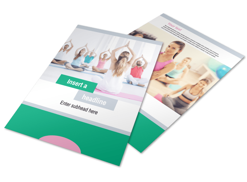 Hot Yoga Class Flyer Template Preview 1