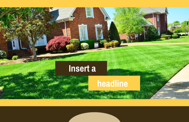 Lawn Care Postcard Template Preview 2
