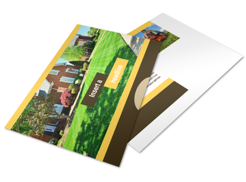 Lawn Care Postcard Template Preview 1