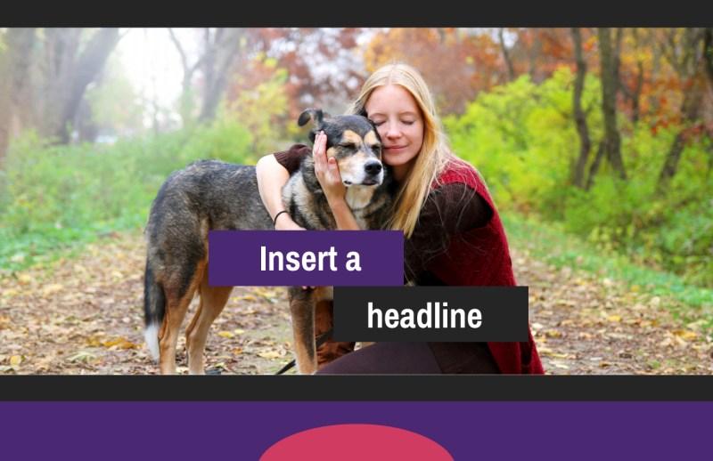 Pet Adoption Postcard Template Preview 2