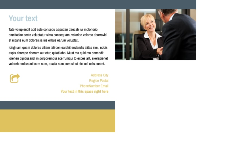 Accident Compensation Lawyer Postcard Template Preview 3