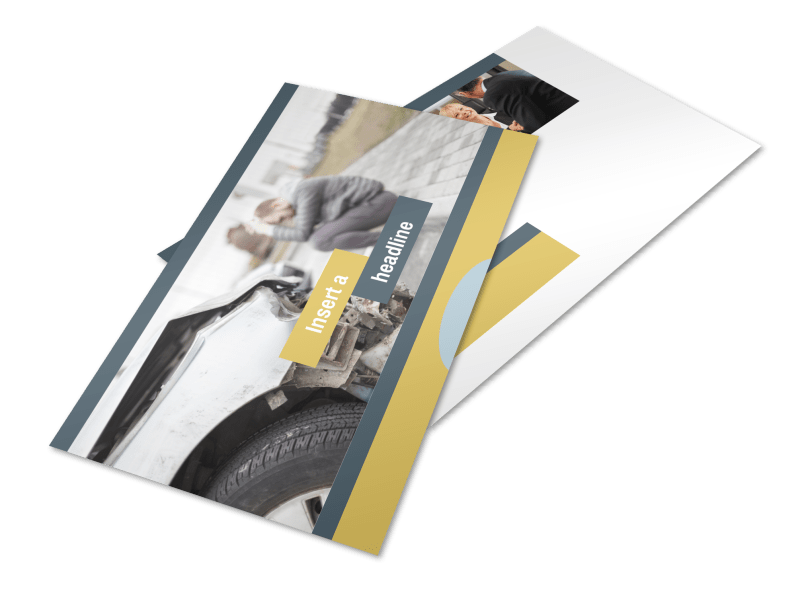 Accident Compensation Lawyer Postcard Template Preview 1