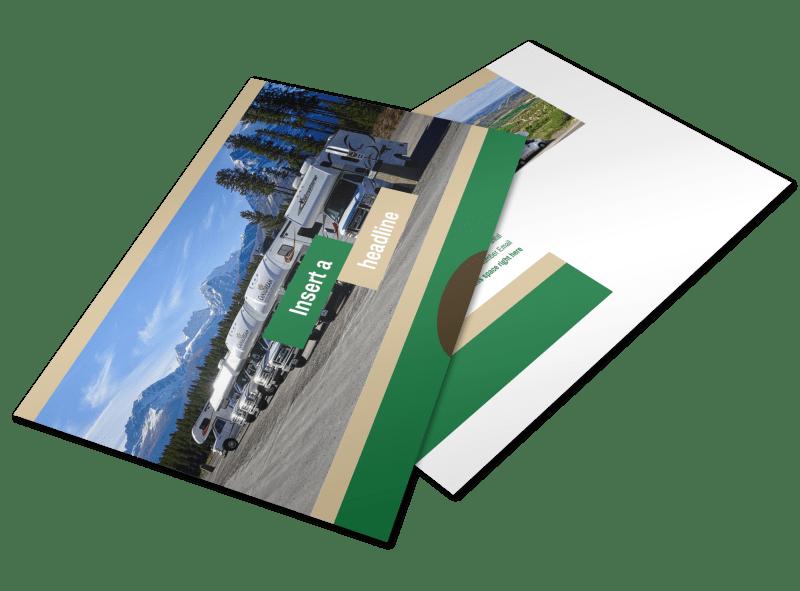 RV Sales Postcard Template Preview 1