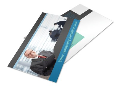 Bookkeeping Postcard Template 2 preview