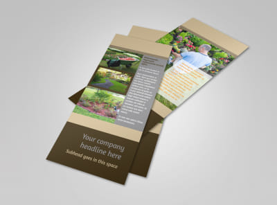 Landscape Design Flyer Template 2