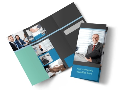 Bookkeeping Tri-Fold Brochure Template