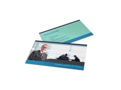 Bookkeeping Business Card Template preview