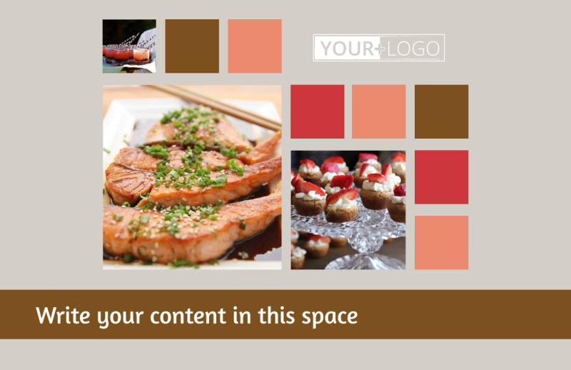 Catering & Event Planning Postcard Template Preview 2