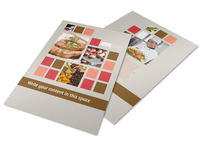 Catering Event Planning Brochure Template – Event Brochure Template