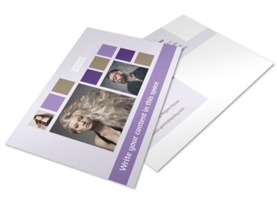 Creative Hair Salon Postcard Template 2 preview