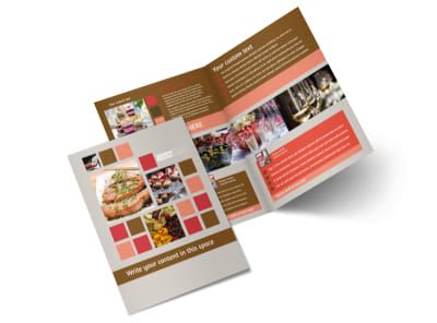 Corporate Event Planner & Caterer Brochure Template 2 preview