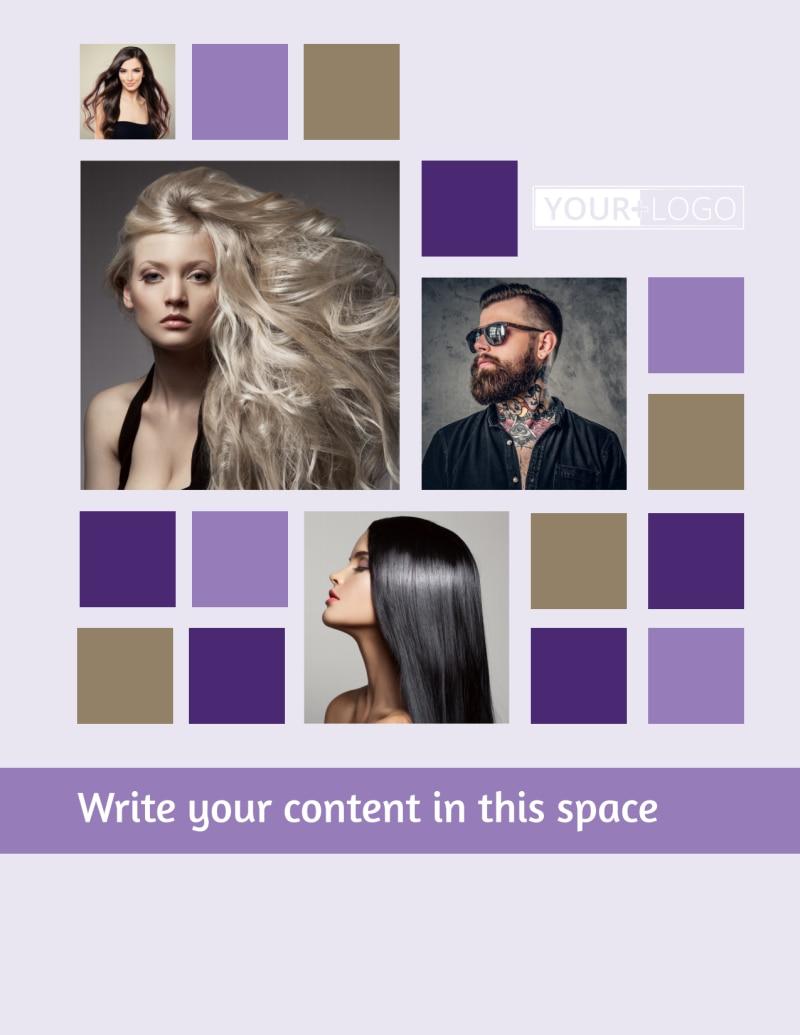 Creative Hair Salon Flyer Template Preview 2