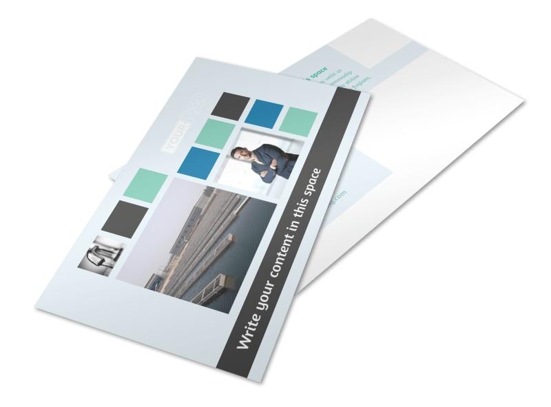 Water Disposal Postcard Template 2