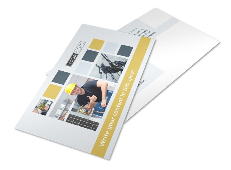 Electrical Service Postcard Template 2