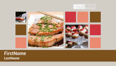 Catering & Event Planning Business Card Template Preview 1