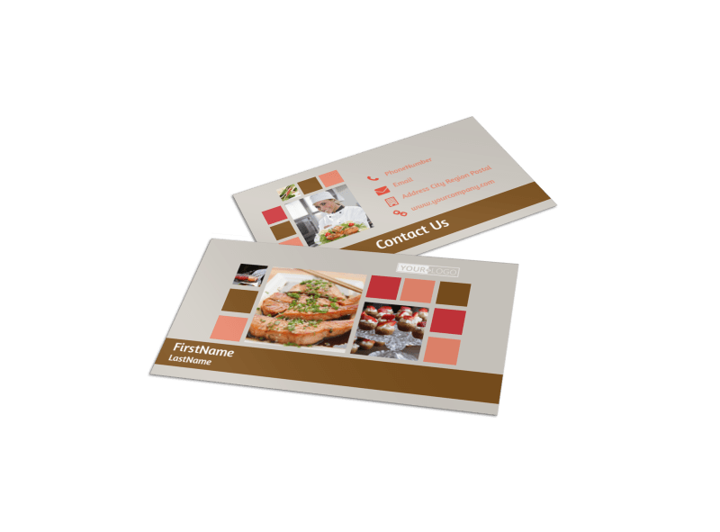 Event Planning Business Card Template