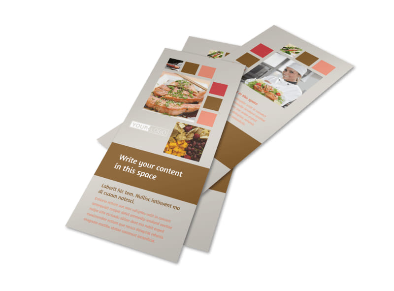 catering corporate event planning services business rack card templates. Black Bedroom Furniture Sets. Home Design Ideas