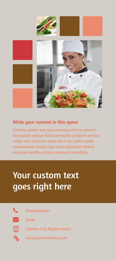 Catering & Event Planning Flyer Template Preview 2