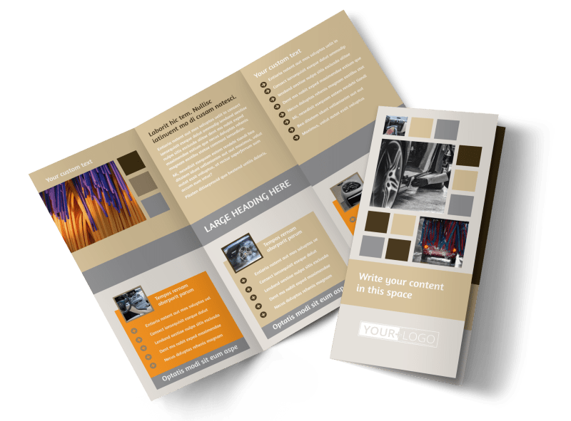 Clean Car Wash Brochure Template Preview 1