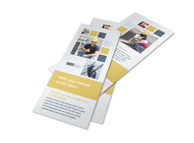 Electrical Service Flyer Template 2