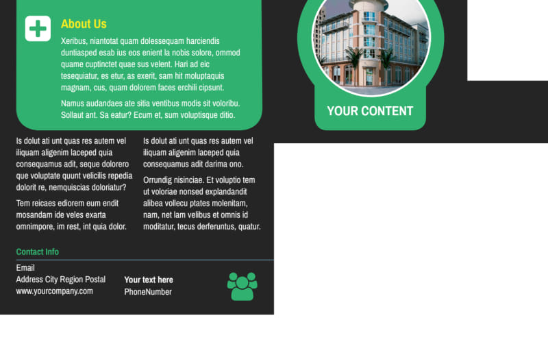 Commercial Cleaning Service Postcard Template Preview 3