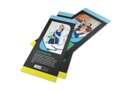 Commercial Office Cleaning Flyer Template 2
