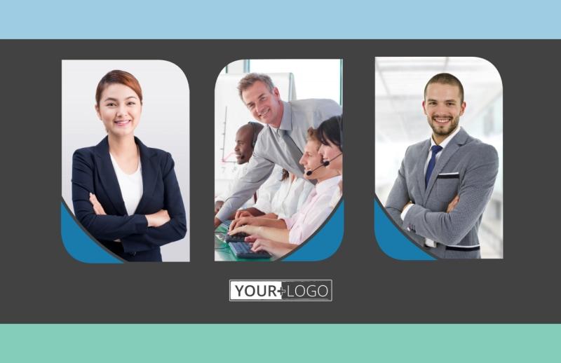 Call Center Service Postcard Template Preview 2
