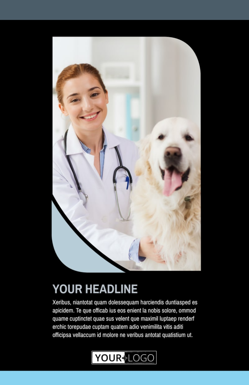 Veterinary Clinic Flyer Template Preview 2