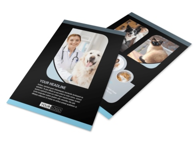 Veterinary Clinic Flyer Template 3
