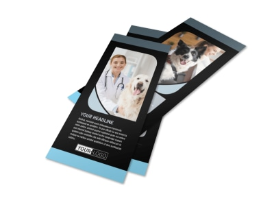 Veterinary Clinic Flyer Template