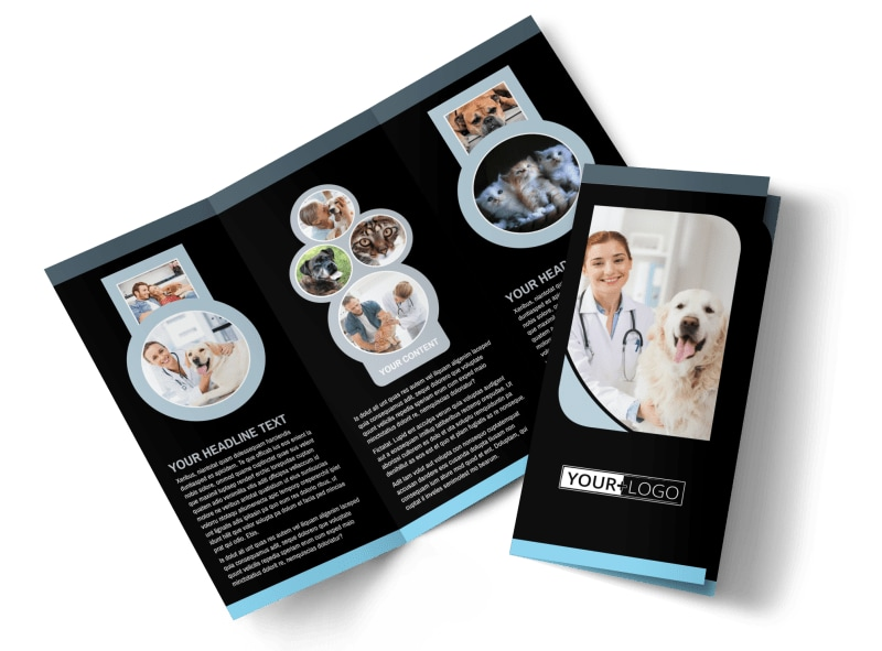 Veterinary Clinic Brochure Template