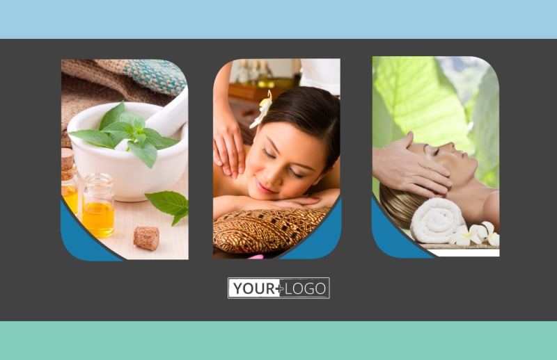 Massage Therapy Spa Postcard Template Preview 2