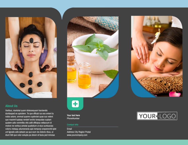 Massage Therapy Spa Brochure Template Preview 2