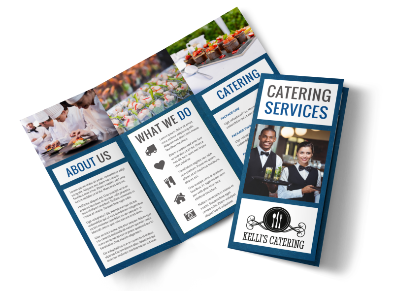 Catering Service Brochure Template Preview 1
