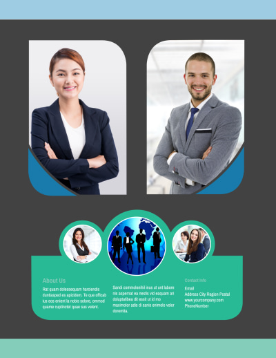 Call Center Service Flyer Template Preview 2