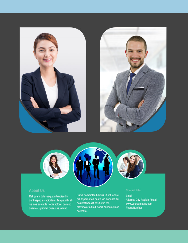 Call Center Service Flyer Template Preview 3